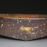 Serving Trough, Soda Fired Stoneware, 5x12x6